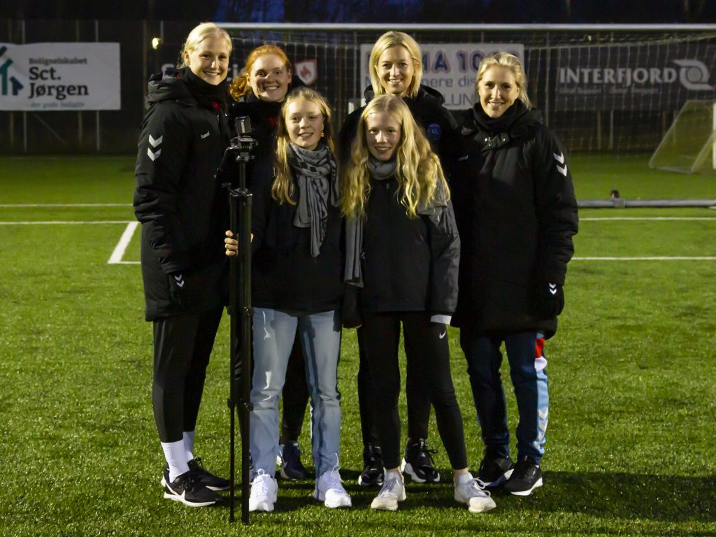 YouTube kanal om pigefodbold i Viborg Kommune ser dagens lys